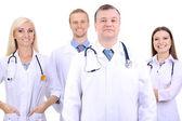 Pracowników medycznych na białym tle — Zdjęcie stockowe