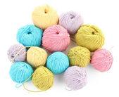 Multicolore biradiale isolati su bianco — Foto Stock