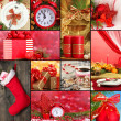 Collage of Christmas time and decorations — Stock Photo #31930579