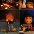 Collage of Halloween — Stock Photo #32213591