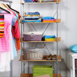 Stock Photo: Women wardrobe close-up