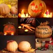 Stock Photo: Collage of Halloween