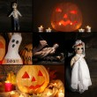 Collage of Halloween — Stock Photo #32622331