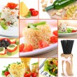 Tasty food collage — Stok Fotoğraf #32719297