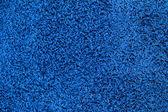 Blue carpet texture — Stock Photo