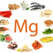 Products containing magnesium — Stock Photo #32848239