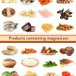 Products containing magnesium — Stock Photo #32848315