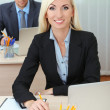 Office workers in workplace — Stock Photo #32937365