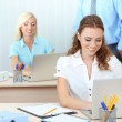 Office workers in workplace — Stock Photo #32937391