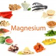 Stock Photo: Products containing magnesium