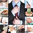 Business collage — Stock Photo #32957611