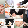 Business collage — Stock Photo #32957619