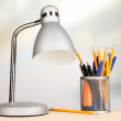 Table lamp in room — Stock Photo #33018947