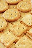 Deliciosos biscoitos de perto — Foto Stock