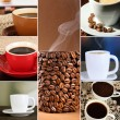 Collage of delicious coffee — Stock Photo #33153811