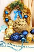 Weihnachtsschmuck hautnah — Stockfoto