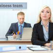 Office workers in workplace — Stock Photo #33209371