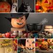 Halloween collage — Foto de stock #33314179