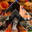 Halloween collage — Stock Photo #33314211