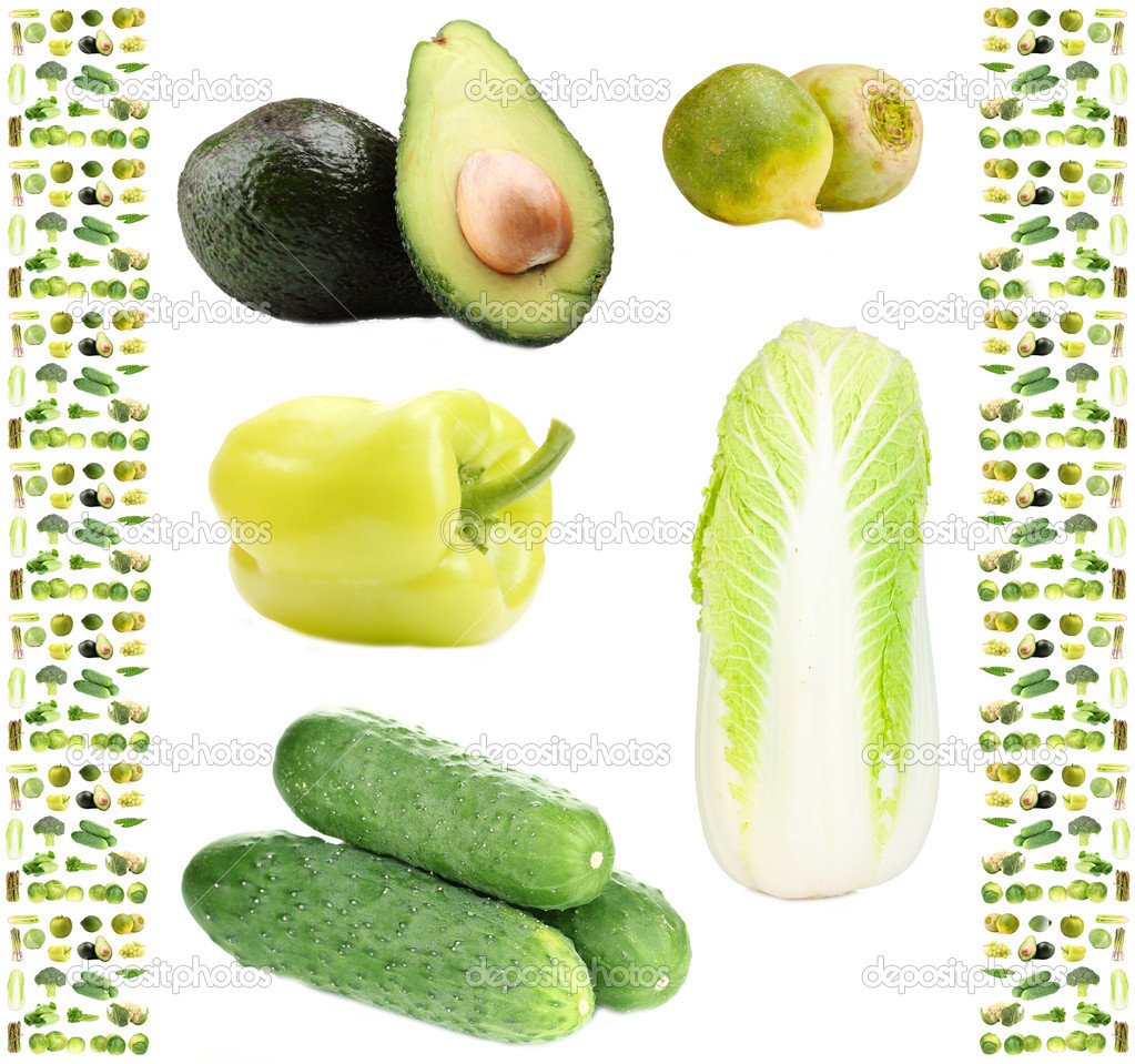 image gallery of green vegetables and fruits
