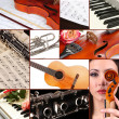 Classical music collage — Stock Photo #33605919