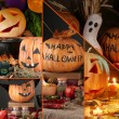 Halloween collage — Foto de stock #33606487