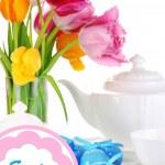réglage de la place pour Pâques bouchent — Photo