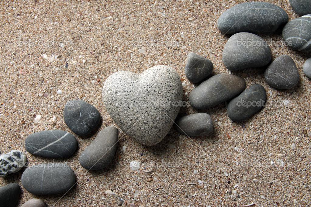 heart stone deposit