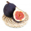 Ripe figs isolated on white — Stock Photo #33930141