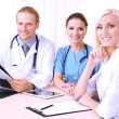 Medical team during meeting in office — Foto Stock