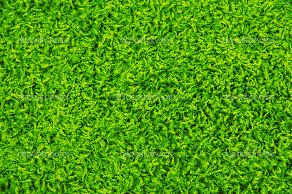Textura de la alfombra verde foto de stock belchonock for Alfombra verde para jardin