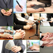 Business collage — Stock Photo #34101349
