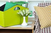 Magazines and folders — Stock Photo