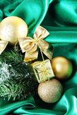Beautiful Christmas decor — Stock Photo
