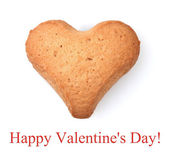 Heart-shaped cookie — Stock Photo