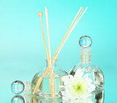 Aromatic sticks for home with floral odor — Stock Photo