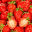 Fresh strawberry close up — Stock Photo #34427625