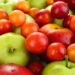Juicy fruits background — Stock Photo #34427825
