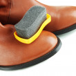Shoe Polishing close up — Stock Photo #34493239