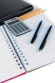 Office supplies close up — Stock Photo