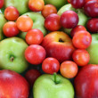 Juicy fruits background — Stock Photo #34500925