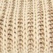 Warm knitted scarf close up — Stock fotografie