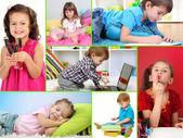 Cute little children — Stock Photo