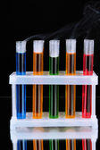 Laboratory test tubes — Stock Photo