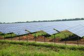 Solar panels, outside — Stock Photo