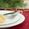 Beautiful Christmas setting, close up — Stock Photo #35024477