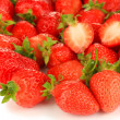 Fresh strawberry close up — Stock Photo #35026573