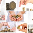 Finance concept collage — Stock Photo #35028439