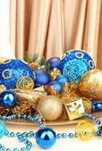Noel süslemeleri yakından — Stok fotoğraf