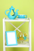 Composition of various home furnishing — Stock Photo